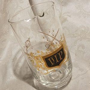 Vintage Glass VIP Barware Pitcher